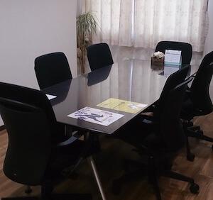 事務所の相談室の画像