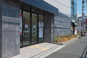 篠田法律事務所の入り口風景