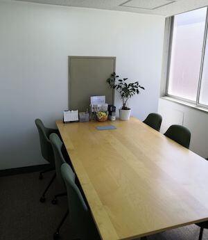 法律事務所フォレストの相談室風景