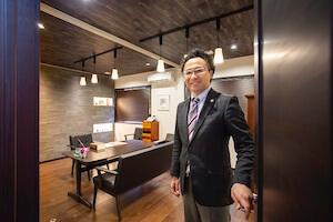 渡邊律法律事務所の相談室の写真