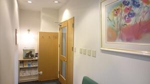 事務所のエントランス写真